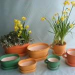 Jarní ovál a šálek